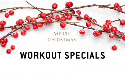 Christmas workouts